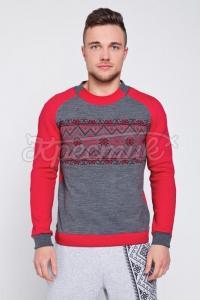 Красный свитер мужской заказать Украина