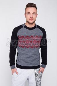 Мужской свитер с узором купить Киев