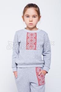 Девичий костюм с украинским орнаментом купить
