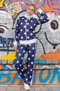 Зоряний спортивний костюм