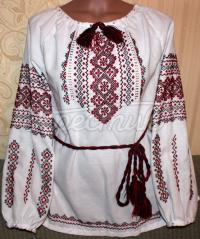Жіноча вишиваночка українська хрестиком