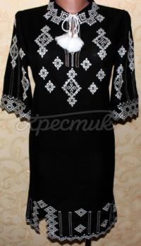 Вышитое женское платье Сияние фото