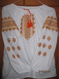 """Украинская вышиванка для девочки """"Солнышко"""""""