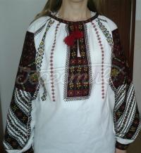 """Украинская вышиванка женская """"Щедрая нива"""""""