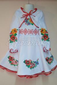 """Ошатне дитяче плаття """"Різноцвіт"""" фото"""