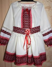 Український костюм з вишивкою для дівчинки