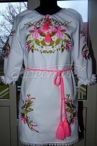 """Вишите українське плаття """"квіткові мотиви"""" купити"""