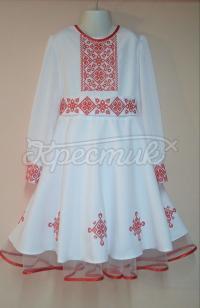 Сукня для дівчинки на свято Орнаменти фото
