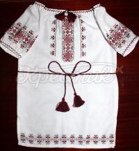 """Дитяче плаття з вишивкою """"Україночка"""""""