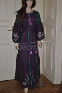 Довга сукня з квітковим візерунком придбати