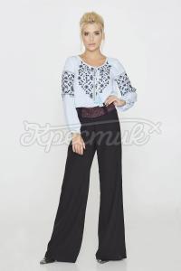 Стильна блуза оригінального орнаменту фото