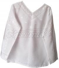 Жіноча вишиванка білим по білому купити