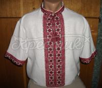 Украинская вышиванка мужская короткий рукав