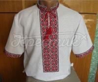 Вишиванка українська чоловіча короткий рукав