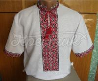 Вышиванка украинская мужская короткий рукав