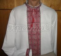Сорочка чоловіча вишиванка ромби