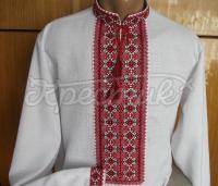 Мужская сорочка вышиванка длинный рукав