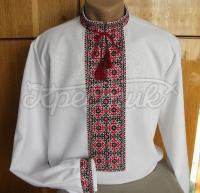 Українська вишиванка з ручною вишивкоюдля чоловіків