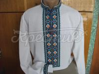 Чоловіча сорочка вишита хрестиком