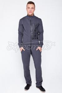 """Чоловічий спортивний костюм з вишивкою замовити в інтернет-магазині """"Хрестик"""""""