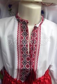 Українська дитяча вишиванка на хлопчика