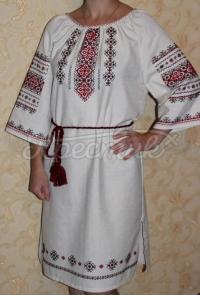 Сукня вишиванка з традиційним орнаментом