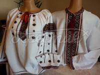Парна вишиванка в техніці низинка купити Київ