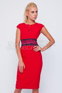 Платье в украинском стиле с орнаментом купить Киев