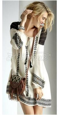 """Украинское платье ручной работы """"Мери"""""""
