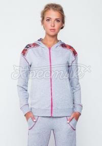 Спортивний костюм жіночий з вишивкою купиь Київ
