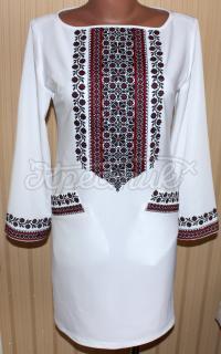 """Белое платье вышиванка """"Карина"""" на мадонне"""