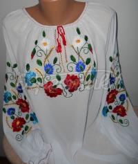 Вышиванка блуза из шифона купить Киев