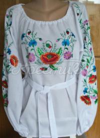 Вишита українська блузка