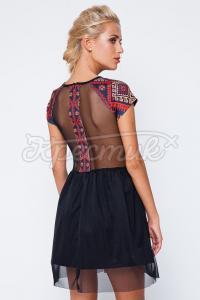 Стильне українське плаття з вишивкою купити Київ