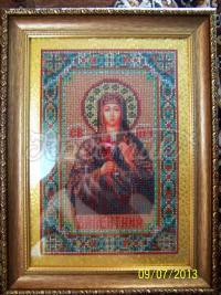 Именная икона бисером Валентина