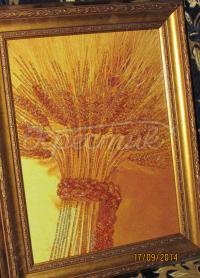 """Вишита картина бісером """"Сніп пшениці"""" купити Київ."""