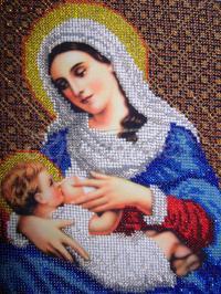 Икона Пресвятая Богородица «Млекопитательница»