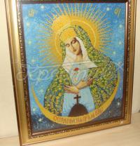 """Вишита ікона """"Божої Матері Остробрамської"""""""