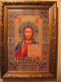 """Вишита ікона """"Господь Вседержитель"""" купити Київ"""