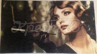Вышитая картина Девушка с сигаретой фото