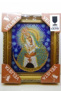 """Вишита ікона """"Матір Божа Остробрамськой"""" купити"""