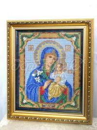 """Бисерная икона """"Неуведаемый цвет"""" купить Киев"""