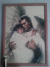 """Вышитая картина """"В ангельских руках"""" купить Киев"""