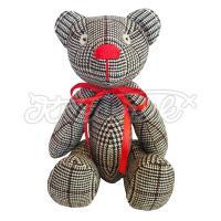 """Авторська іграшка """"Чорно-білий Ведмедик"""" купити"""