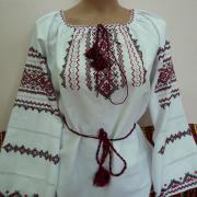 """Женская вышиванка с длинным рукавом """"Украиночка"""""""