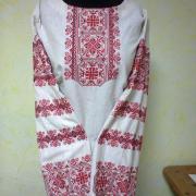 Вишита жіноча блузка Захід фото