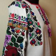Женская Борщевская вышиванка по мотивам старинной фото