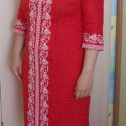 Українська вишита сукня купити Київ