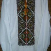 Чоловіча сорочка ручної роботи в техниці низинка придбати