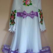 """Дитяча вишита сукня """"Цукерочка"""" фото"""